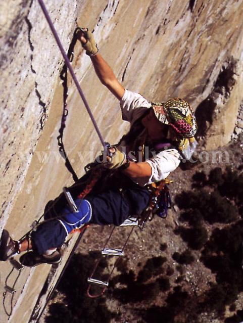 El Capitan Reticent Wall (A5). Yosemite USAsilviavidal 1995