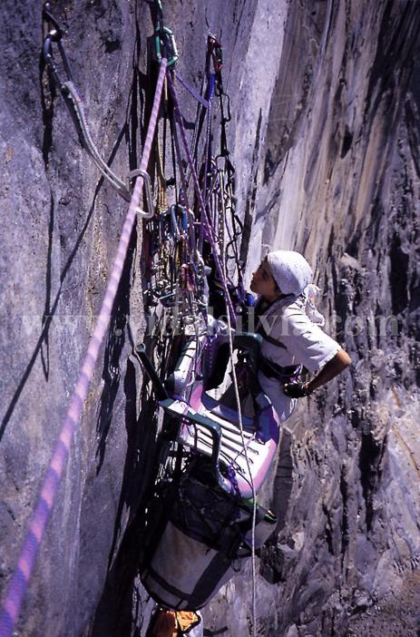 El Capitan Sea of Dreams. Yosemite USA 1996
