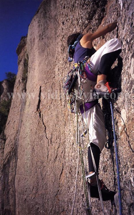 Montserrat El Mirall Impenetrable (A5). Catalunya 1995silviavidal